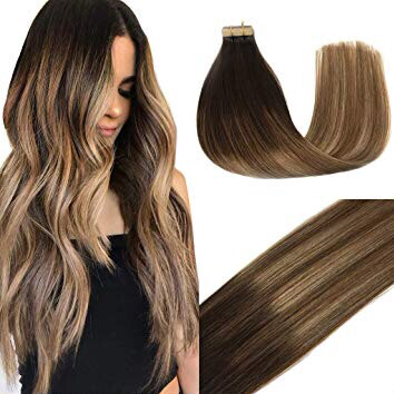 100% Remy Human Tape-in Hair Extensions