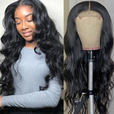 6x6 HD Lace Closure Brazilian Hair Wigs
