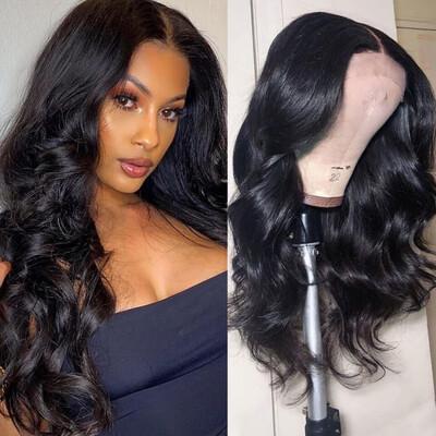 5x5 Lace Closure Brazilian Hair Wigs
