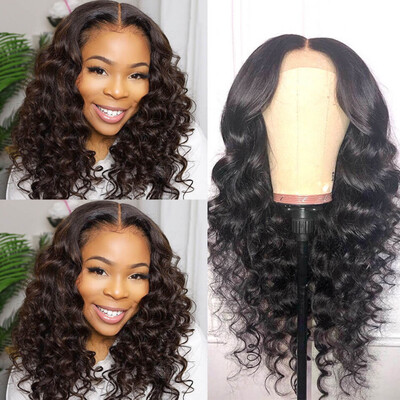 4x4 HD Lace Closure Brazilian Hair Wigs