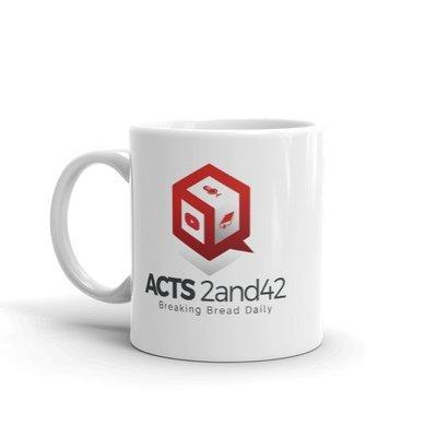 Acts 2and42 Coffee Mug