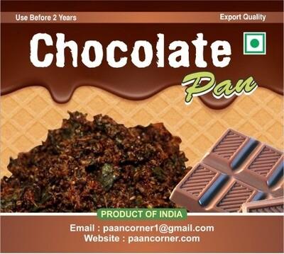 Chocolate Paan