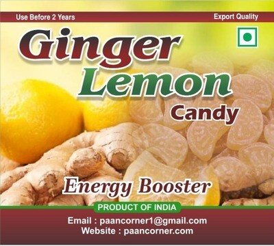 Ginger Lemon Candy
