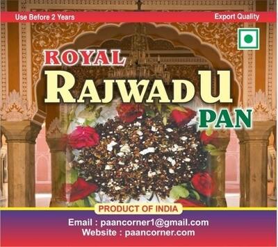 Rajwadu Paan