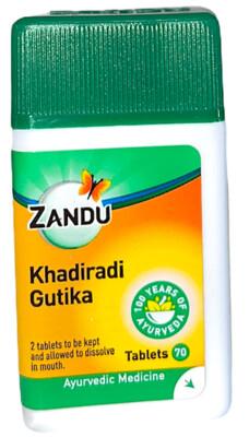 Zandu Khadiradi Gutika