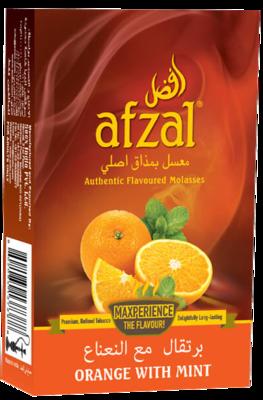 Afzal Orange with Mint
