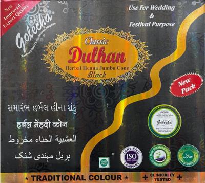 Dulhan Herbal Mehndi Cones Black