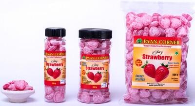Juicy Strawberry Hard Candy