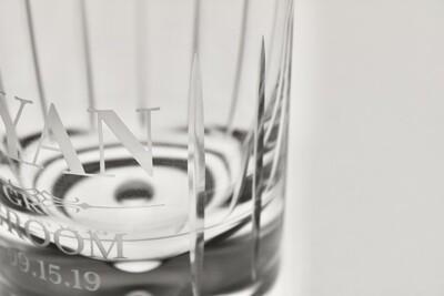 Custom Whiskey Glass (Handcut)