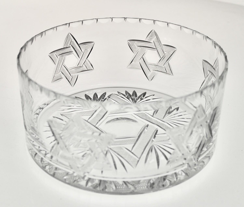 Large Star of David Bowl