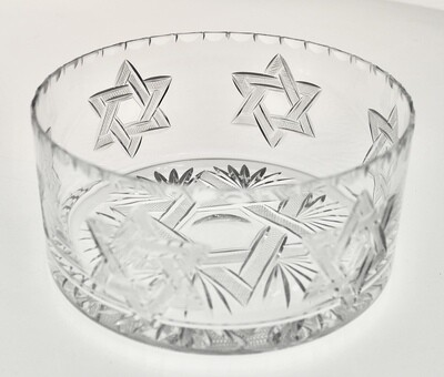 Large Star of David Bowl