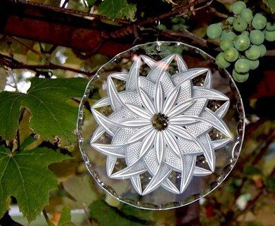 Blossom Weave Suncatcher