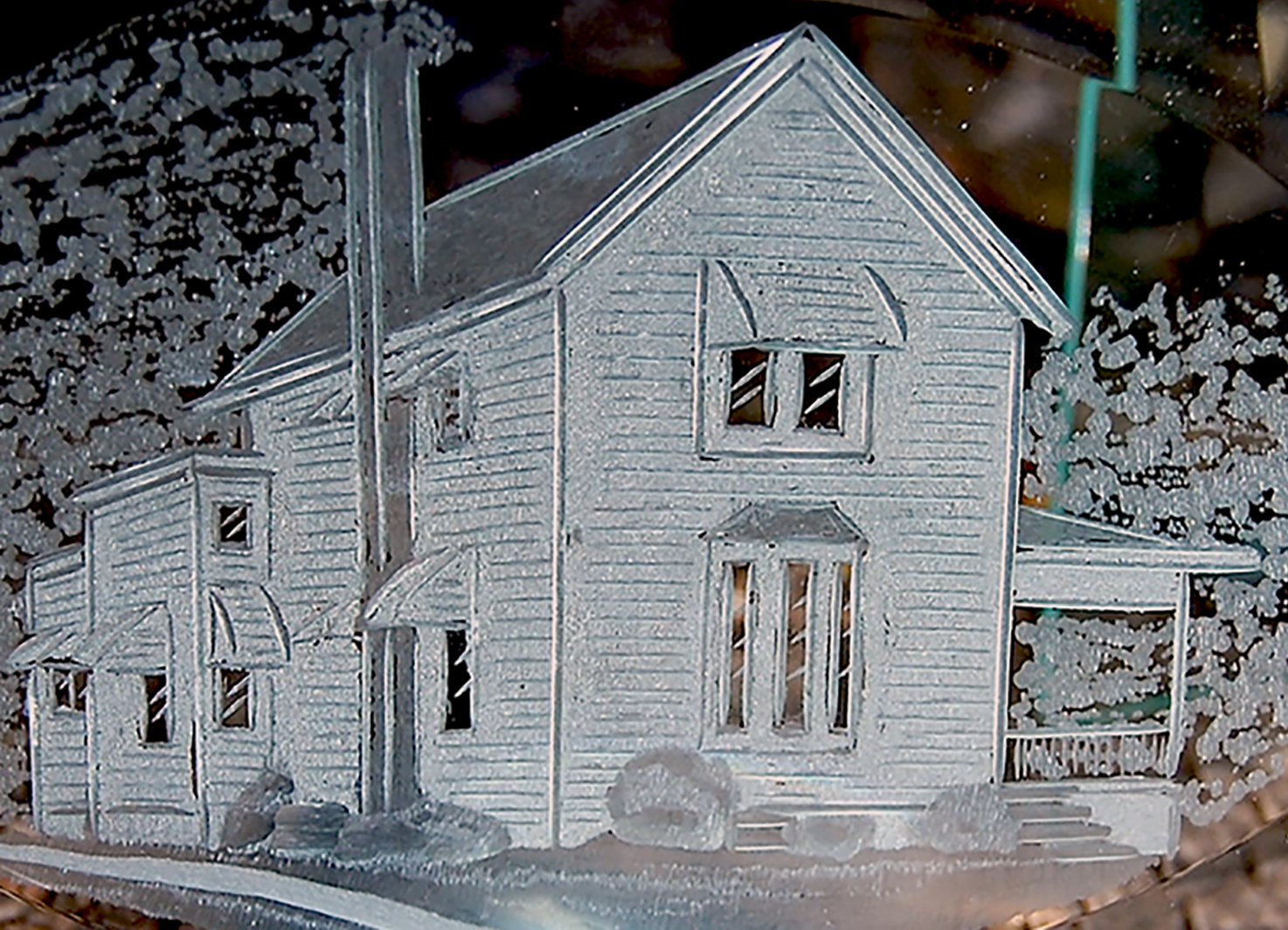 Hand Cut Picture Renderings