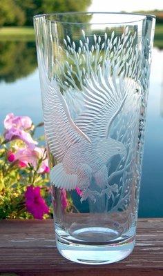 Soaring Eagle Vase