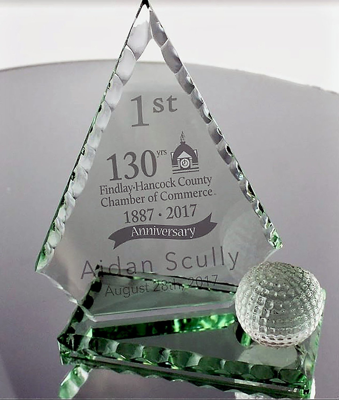 Golf Tourney Trophy