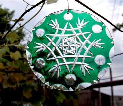 Green Flashglass