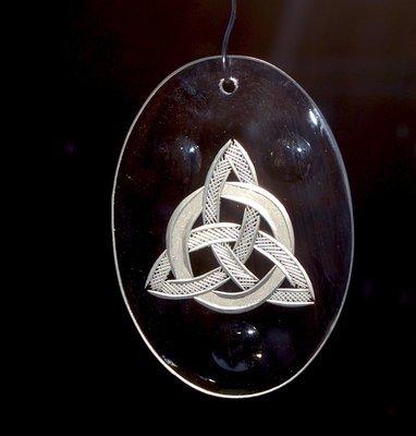 Celtic Trinity & Punty Ornament
