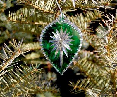 Flashglass Starburst Green