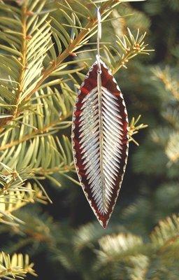 Flashglass Leaf Cranberry