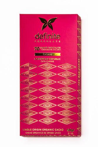 Chocolate Öko Caribe 70% Casabe