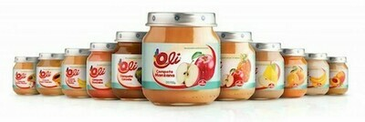 Compota Oli Frutas y Manzana