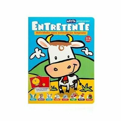 Entretente: Vaca, Libro de Actividades para Estimulación Temprana