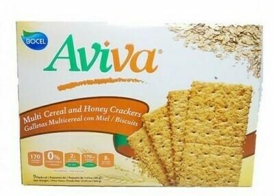 Galleta Aviva Multi Cereal con Miel 9/1