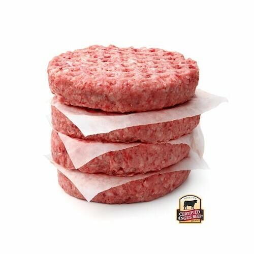 Hamburguesa 8 oz Certified Angus Beef, 8 Unidades