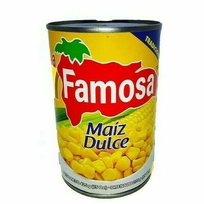 Maiz Dulce La Famosa 15 Onz