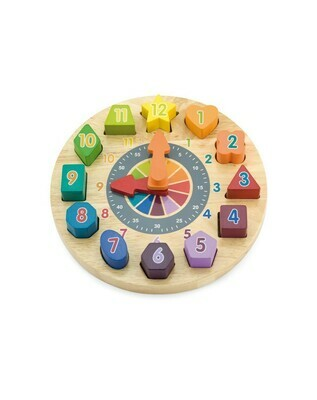 Children's Clock (Reloj Madera para Niños)