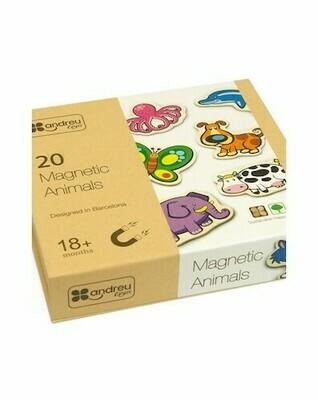 20 Magnetic Animals (Animales Magneticos) 8 cm