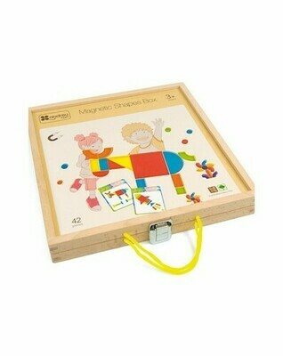 Magnetic Shapes Box (Caja Formas Magneticas)