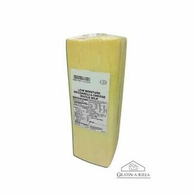 Queso Mozzarella Gratinarella - Caja 20 LBS