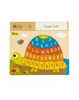Puzzle - Turtle (Rompecabezas Tortuga)