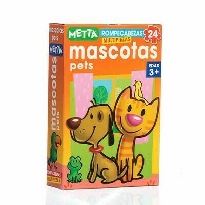 Rompecabezas de Mascotas (+3 años) - 25 piezas