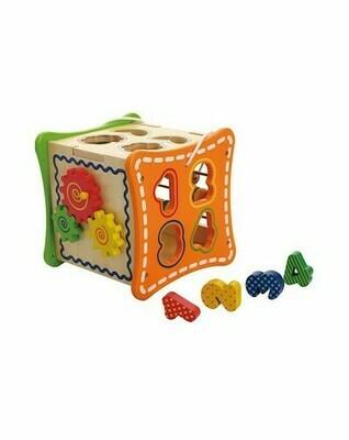 5 in 1 Learning Cube (Cubo Aprendizaje 5 en 1)