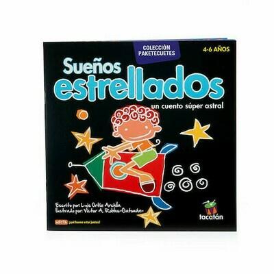 Sueños Estrellados, libro de cuentos