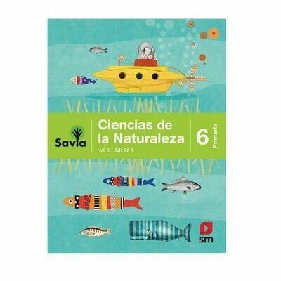 Ciencias de la Naturaleza 6. Proyecto Savia. Primaria. SM