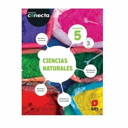 Ciencias Naturales 5. Proyecto Conecta. Secundaria (Antiguo 3ro Media). SM