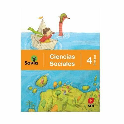 Ciencias Sociales 4. Proyecto Savia. Primaria. SM
