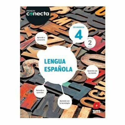 Lengua Española 4 (Digital). Blink. Secundaria. Proyecto Conecta (Antiguo 2do Media). SM