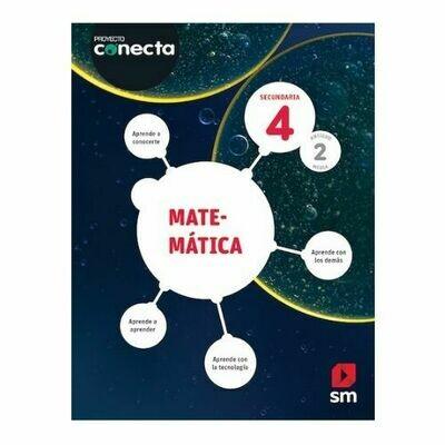 Matematica 4 (Digital). Blink. Secundaria. Proyecto Conecta (Antiguo 2do Media). SM