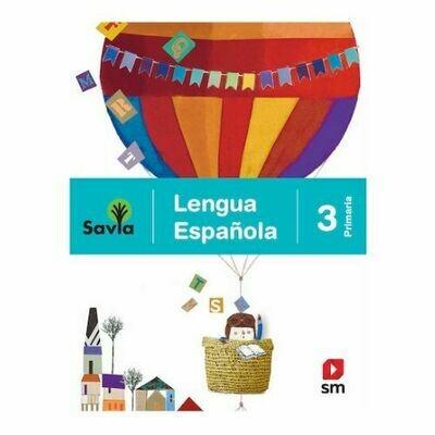 Lengua Española 3. Proyecto Savia. Primaria. SM