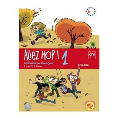 Allez Hop! 1. Libro de Texto. SM