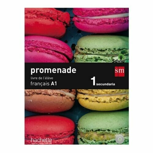 Promenade Francais A1 15. Libro de Texto. SM