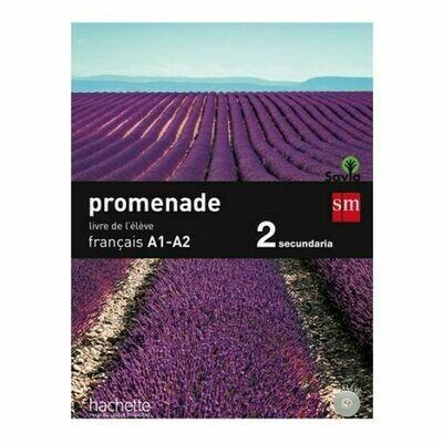 Promenade Francais A1-A2 15. Libro de Texto. SM