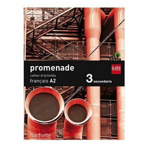 Promenade Francais A2 15. Cuaderno de Trabajo. SM
