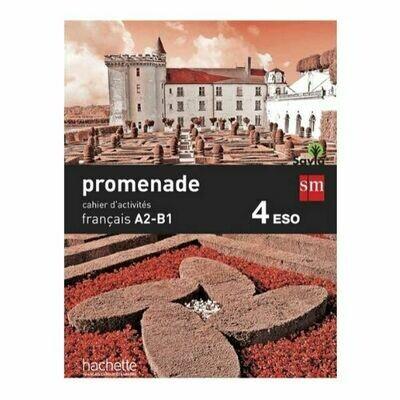 Promenade Francais A2-B1 15. Cuaderno de Trabajo. SM