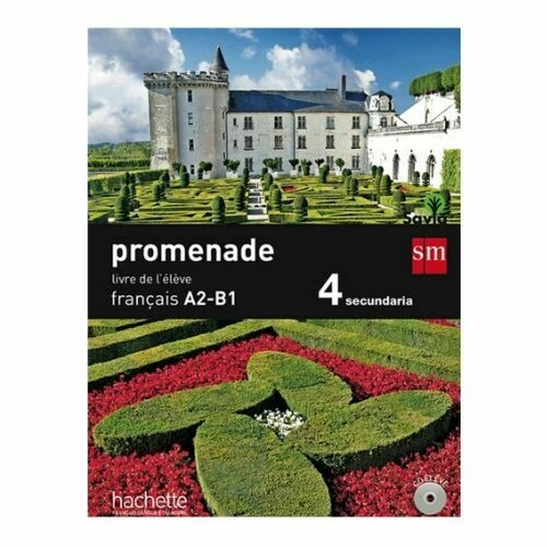 Promenade Francais A2-B1 15. Libro de Texto. SM
