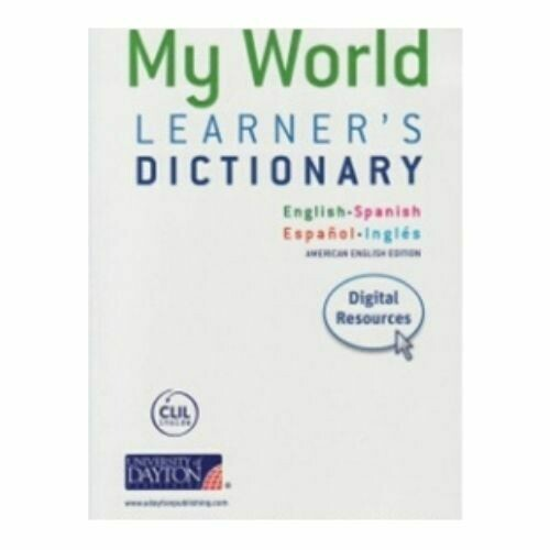 My World. Learner's Dictionary (Diccionario). SM